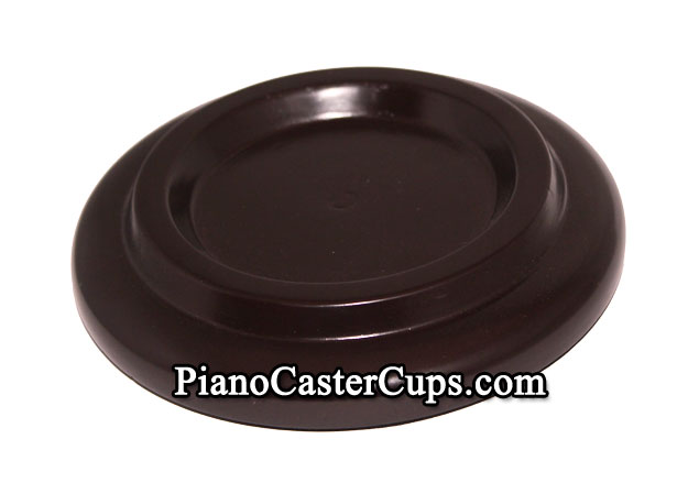 black grand piano caster cups with rubber pad