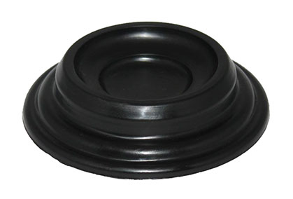 black tiered piano caster cup